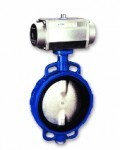 Centric or high performance butterfly valve
