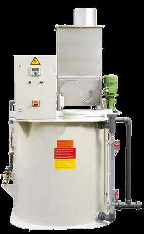 KD 440 for dry water treatment chemicals